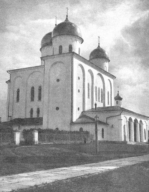 Георгиевский собор юрьева монастыря