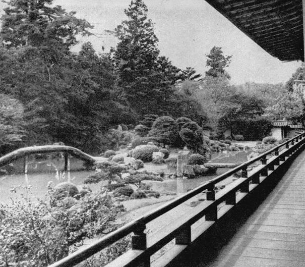 Сад четырех времен года монастыря