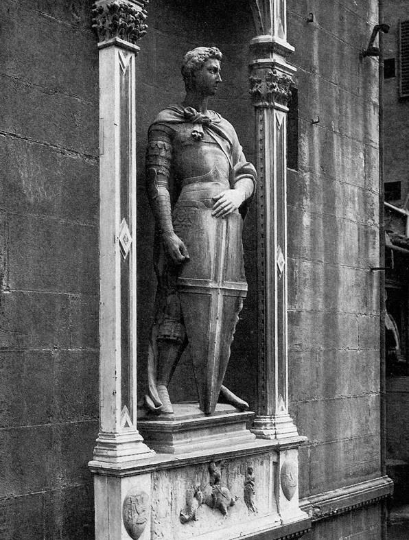 Донателло статуя георгия