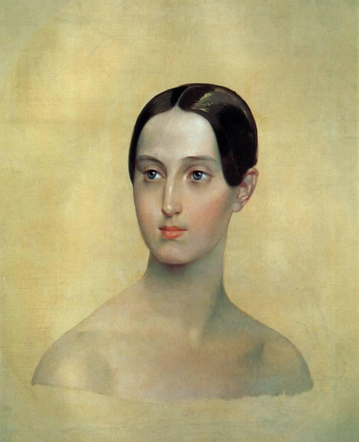Портрет великой княжны Марии Николаевны