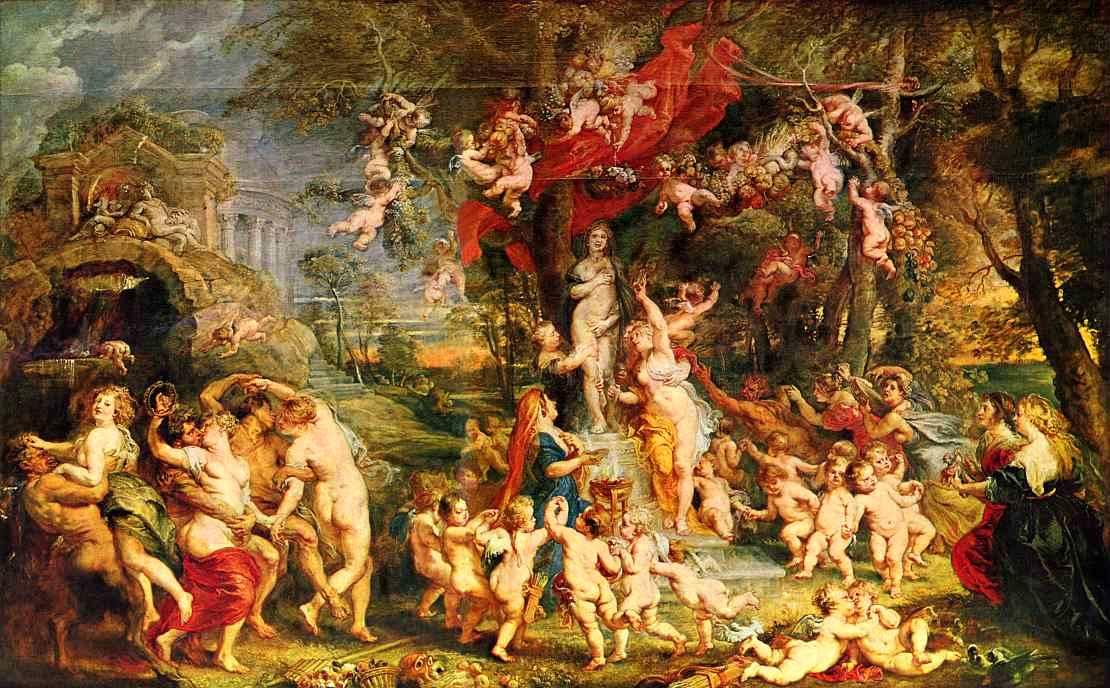 Картина Рубенса Праздник