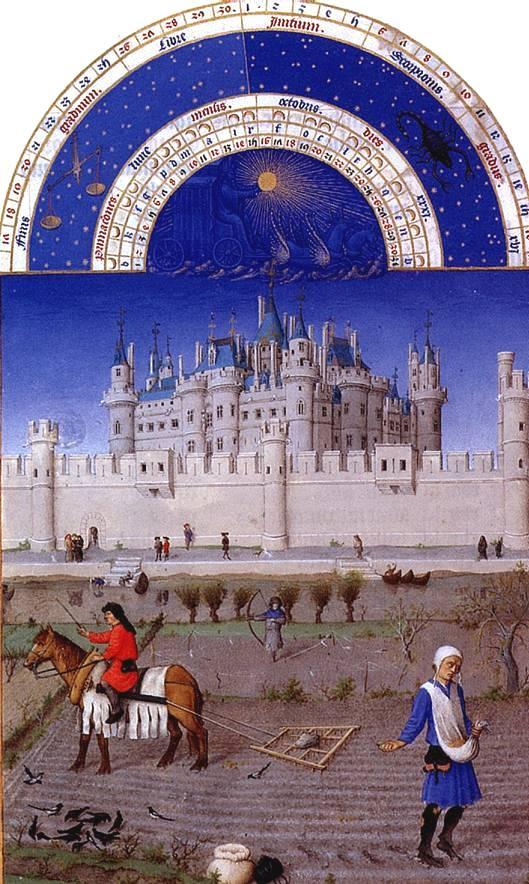 Братья Лимбурги. Средневековый Лувр