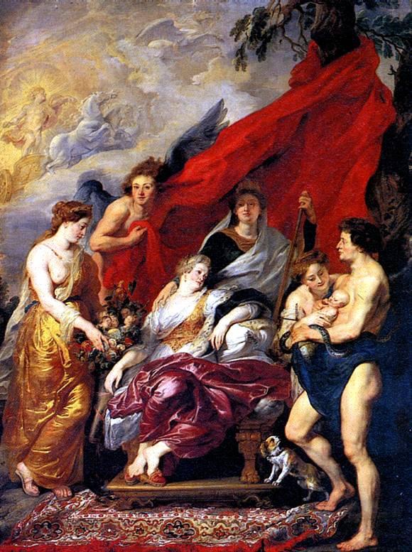 картины Рубенса в Лувре Рождение ...: bibliotekar.ru/Louvre/321.htm
