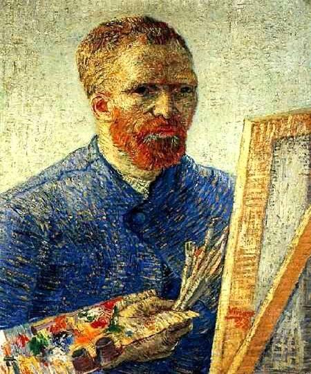 Автопортрет перед мольбертом 1888 г