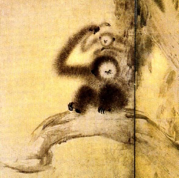Название картины обезьяны среди