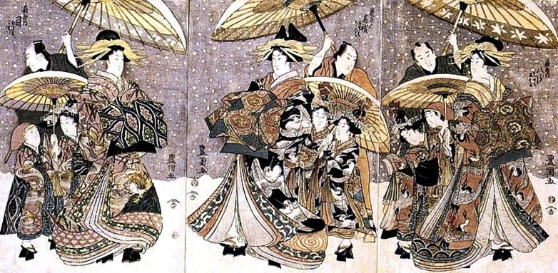Японский художник Утагава Тоёкуни