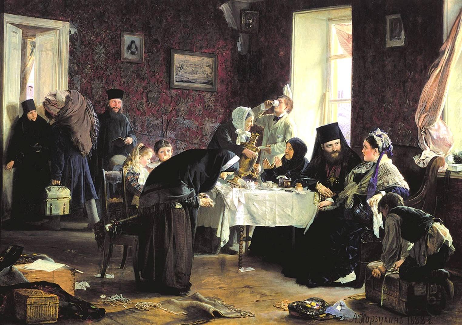 Русские художники 19 века монастырская