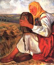 Крестьянка с квасником