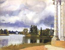 Озеро в Царском селе