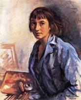 Портрет Зинаиды Серебряковой