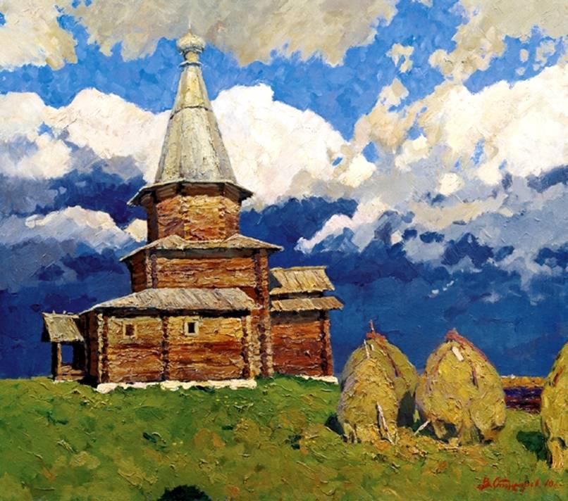 Новгород церковь успения из курицко