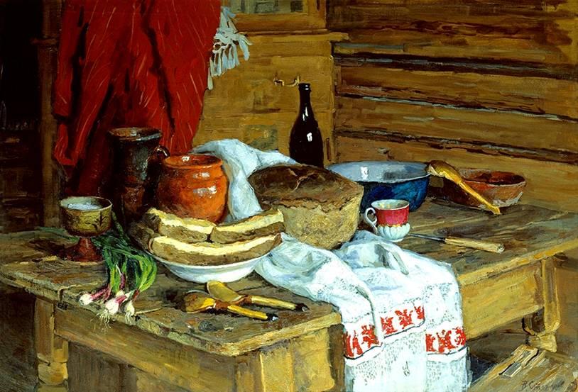 Картины натюрморты русских художников