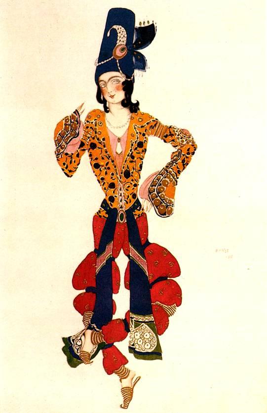 Эскизы Льва Бакста