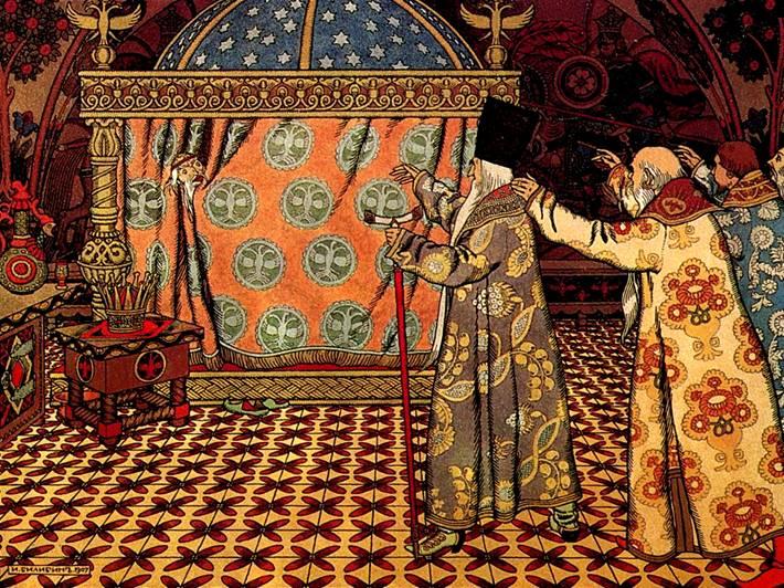 Русские народные сказки иллюстрация