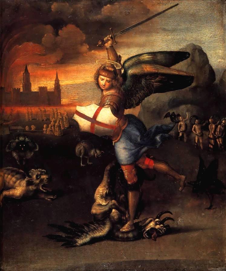 Святой Михаил и дракон
