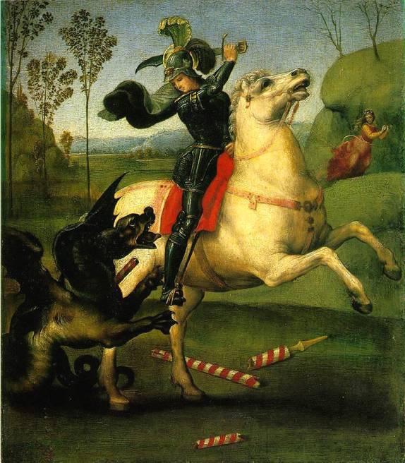 Святой Георгий побеждающий дракона