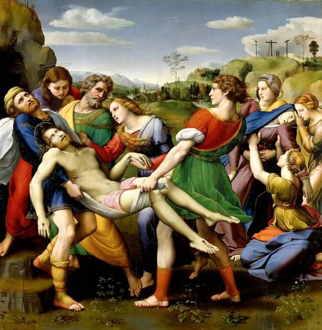 Картина Снятие с креста. 1507
