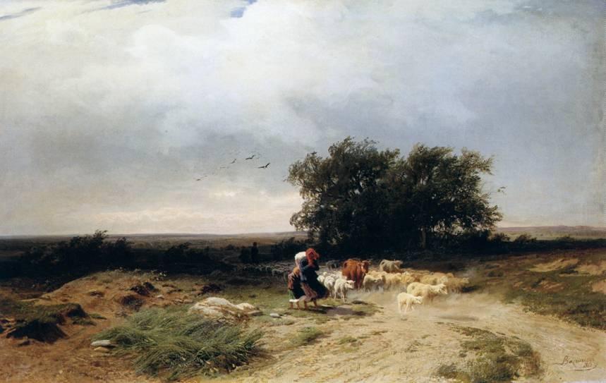 Название картины возвращение стада