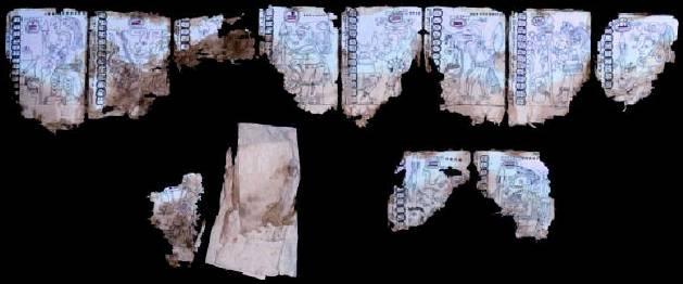 фотография иероглифы майя