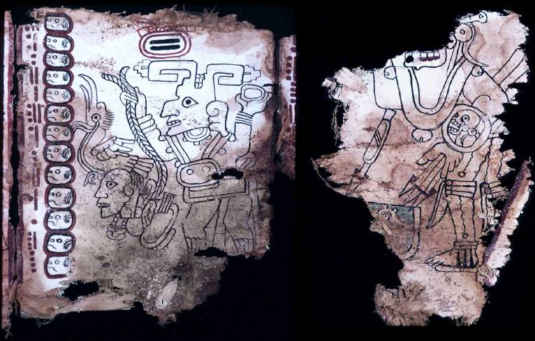 фото рукопись майя