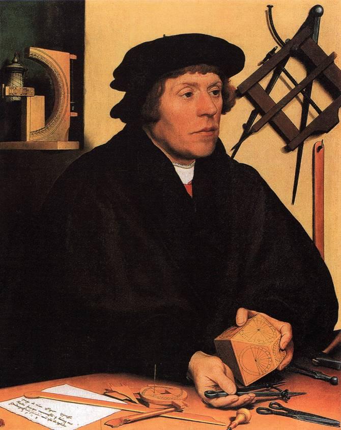 Ганс Гольбейн Младший. Картины Гольбейна в Лувре