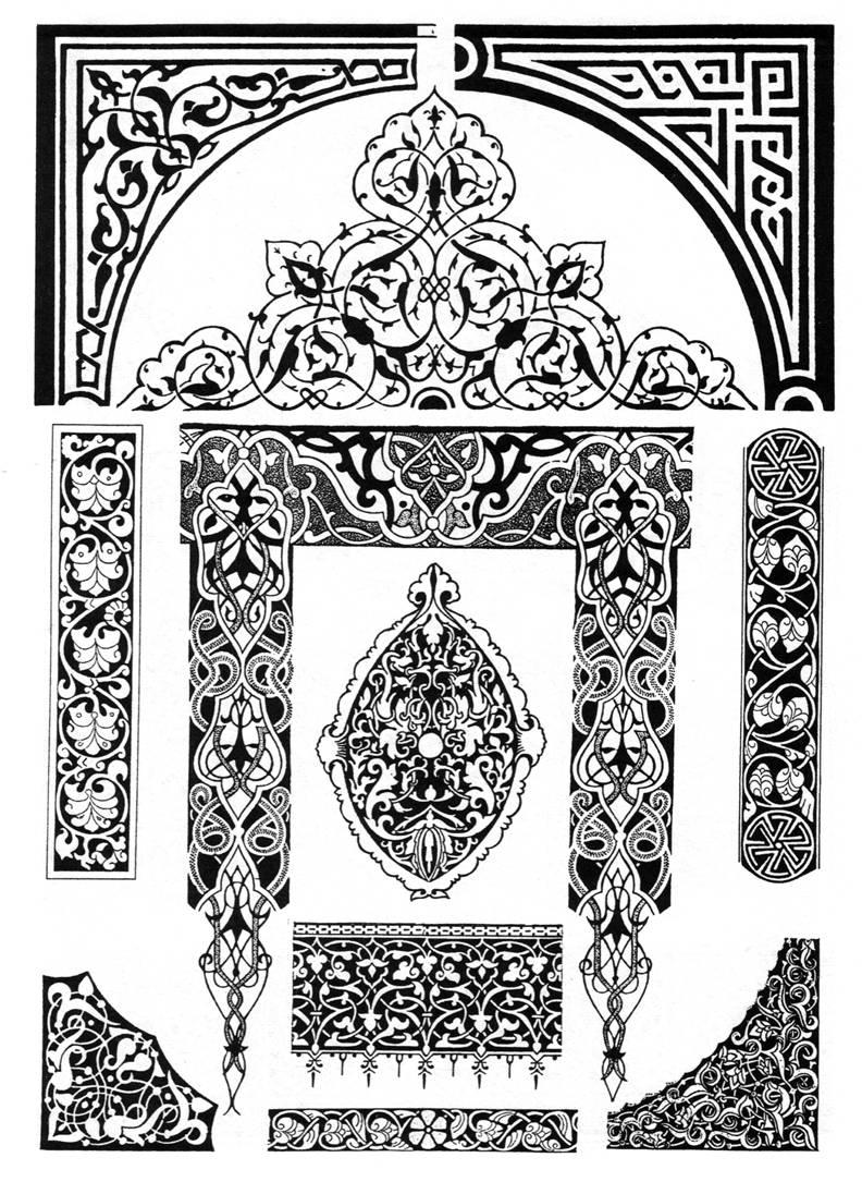 восточный орнамент фото