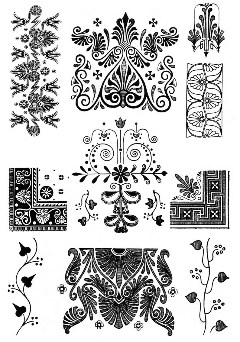 схема кельтского орнамента