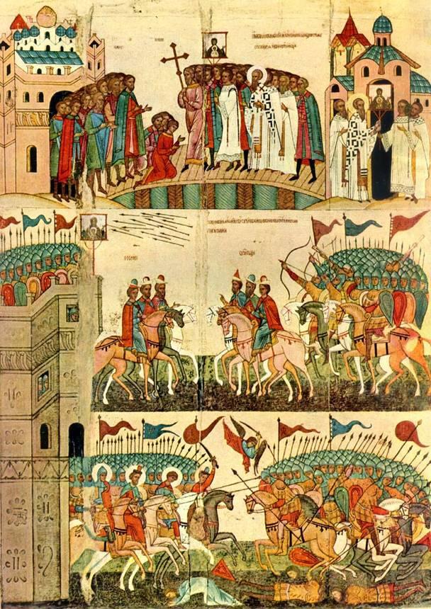 битва суздальцев и новгородцев