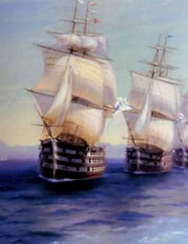 Маневры Черноморского флота в 1850 году