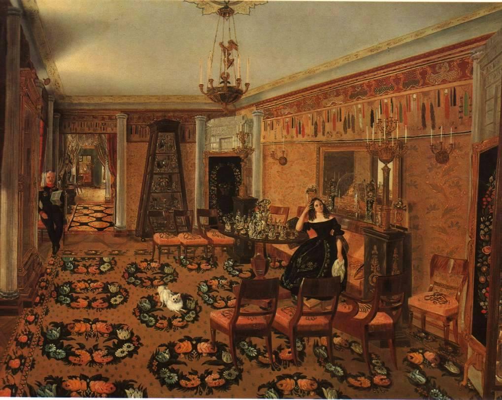 Неизвестный художник середины 19 века