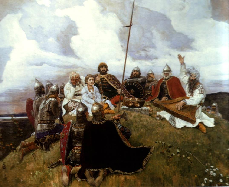 Картина «Баян». 1910: www.bibliotekar.ru/rusVasnecov/41.htm